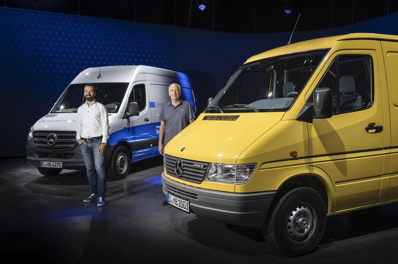 Sprinter celebra 25 años revolucionando el transporte