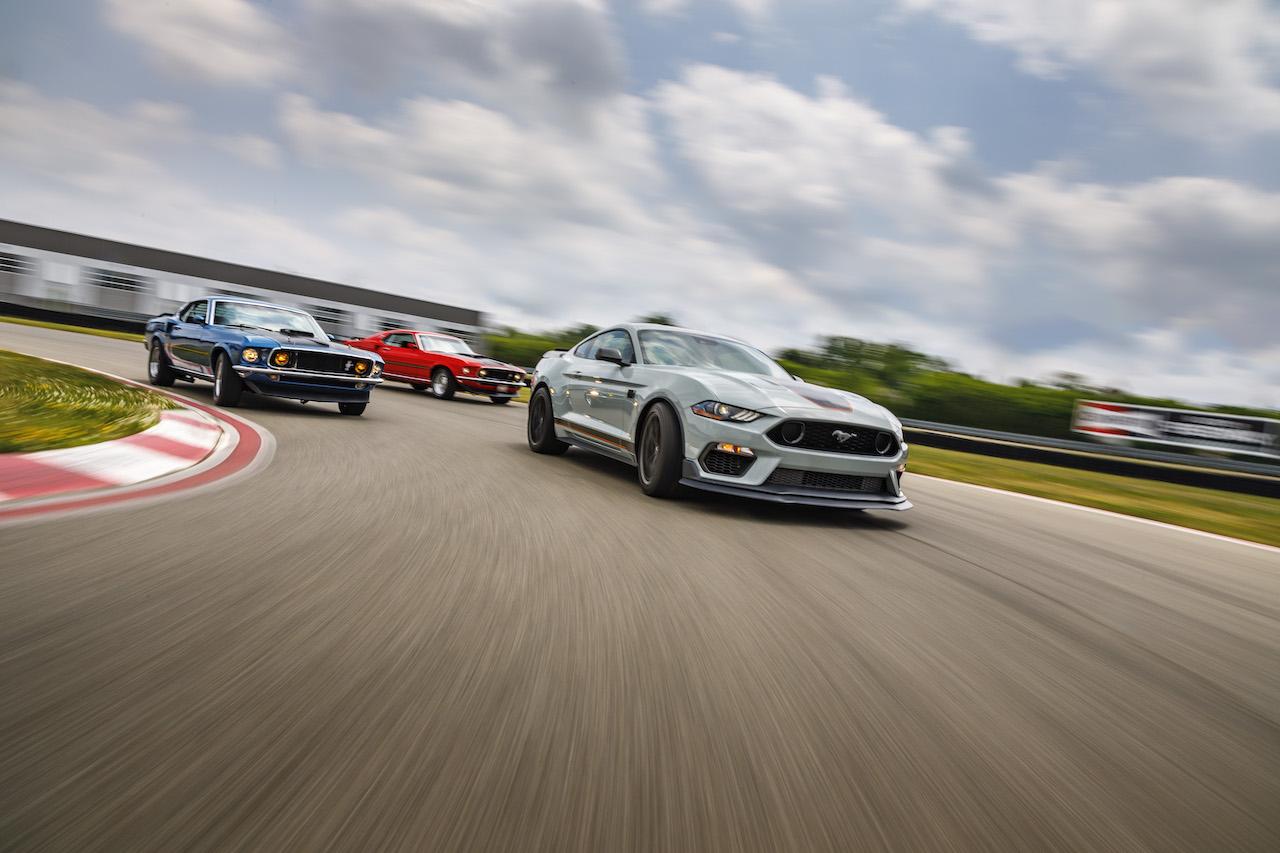¡Los caballos de potencia de Ford!