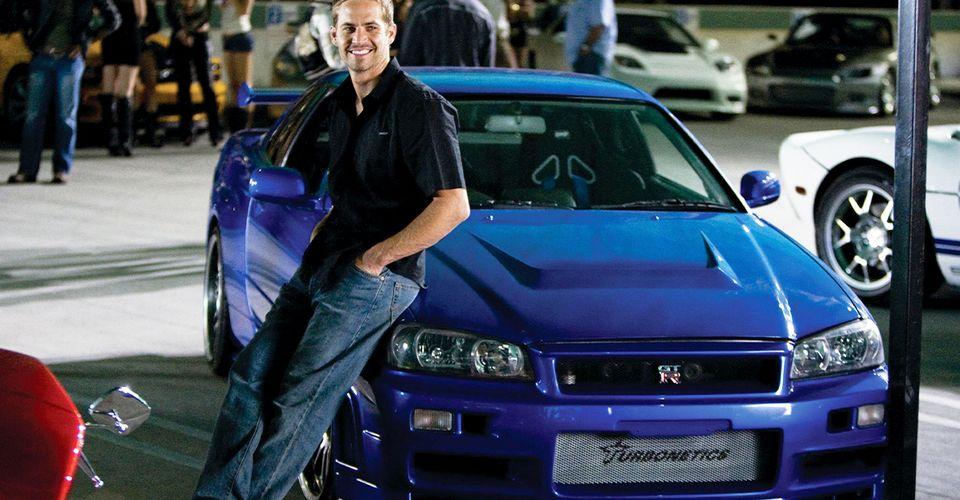 Paul Walker y su Nissan Skyline GT-R