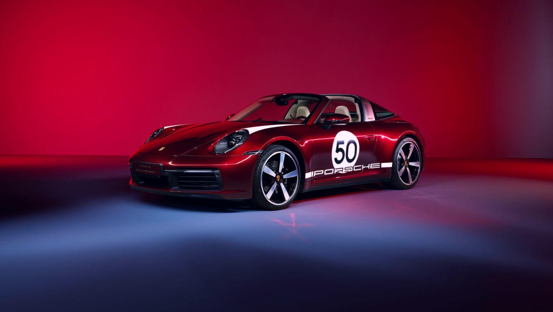 Porsche 911 Targa 4S Heritage Design Edition, un nuevo clásico