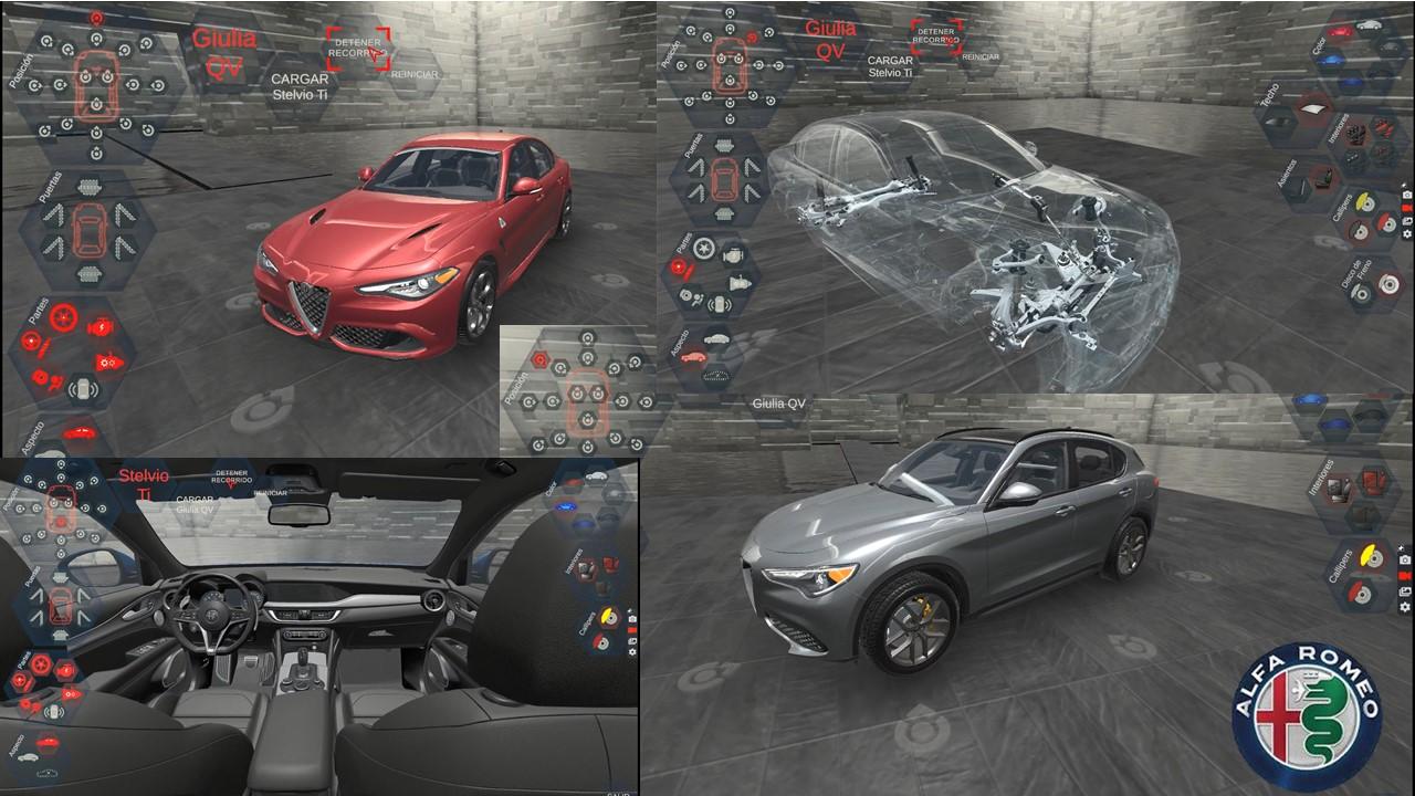 Visita el showroom de Alfa Romeo, desde casa