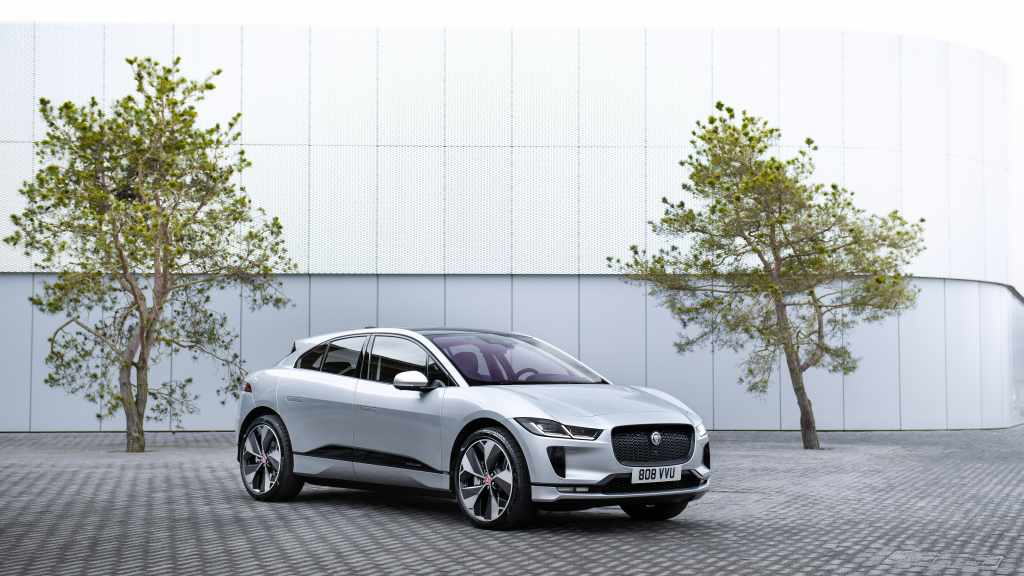 Taxis eléctricos Jaguar I-Pace estrenan recarga inalámbrica