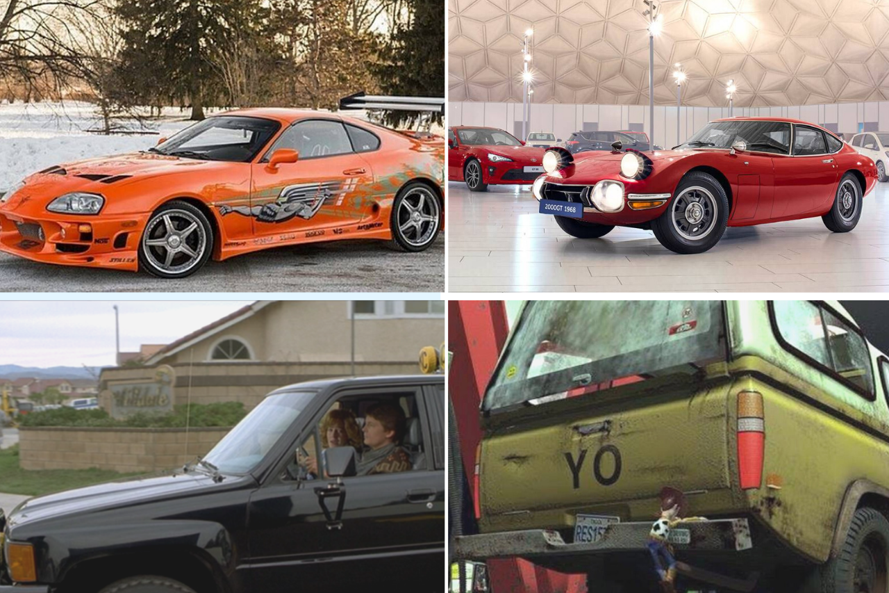 ¿Sabías que en estas películas sale un Toyota?