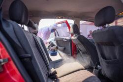 Volkswagen Vehículos Comerciales ayuda a sanitizar