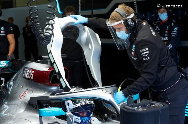 El equipo Mercedes está de regreso en la pista