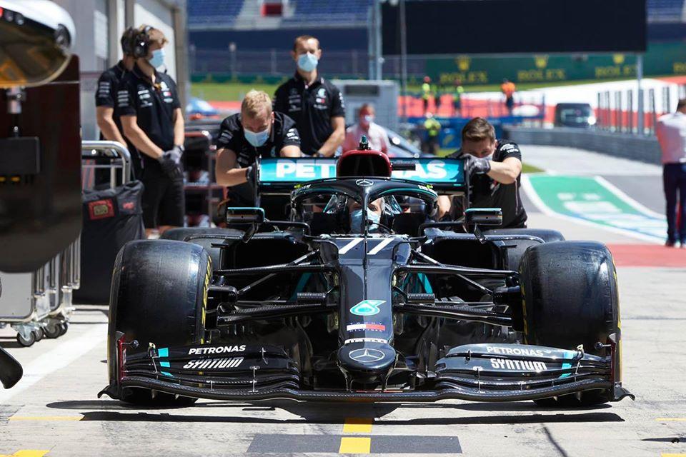 Mercedes llega renovado al GP de Austria