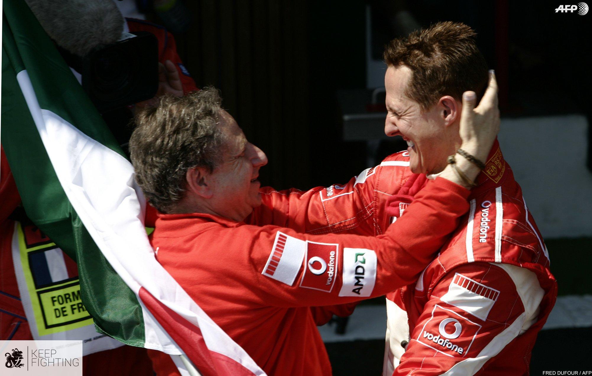 Las esperanzadoras palabras de Jean Todt sobre la salud de Michael Schumacher