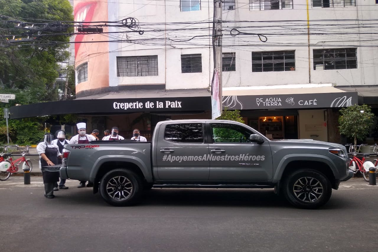 Con más de 16,000 comidas Toyota ha apoyado a nuestros héroes
