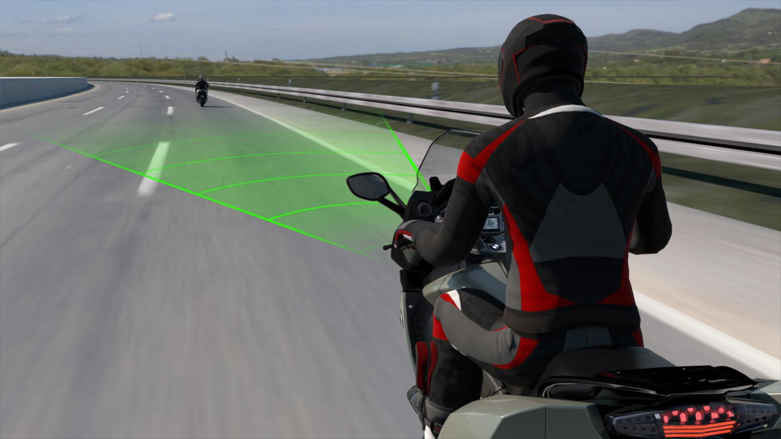 Así funciona el Control de Crucero Activo en motocicletas de BMW Motorrad