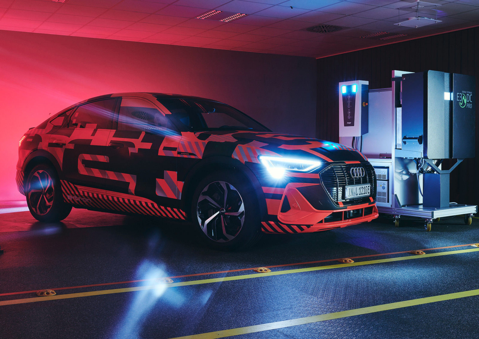 Audi desarrolla carga bidireccional