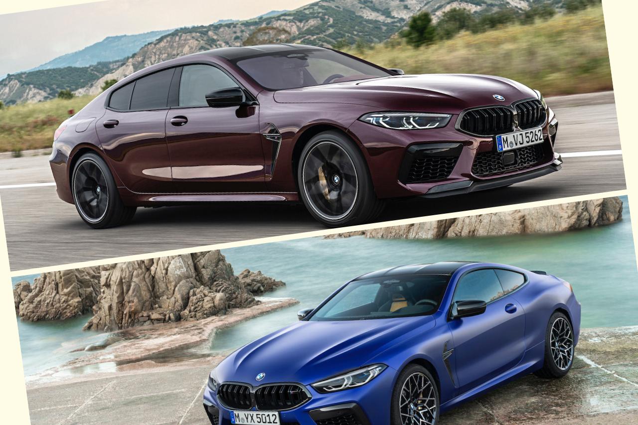 Llegan a México el BMW M8 Coupé Competition y Gran Coupé Competition