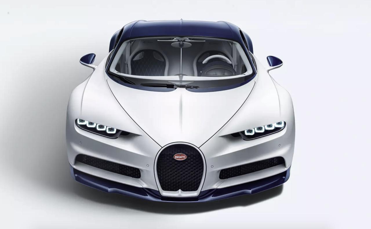 Los modelos Chiron de Bugatti