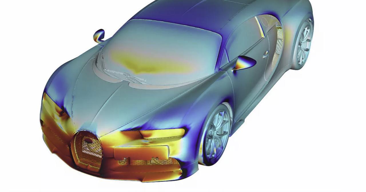 Bugatti desarrolla un control de temperatura perfecto