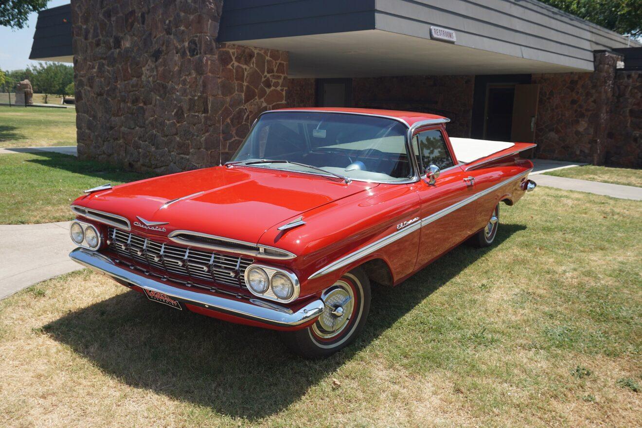 Chevrolet El Camino Rojo