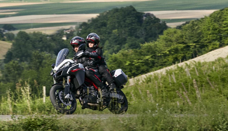 Ducati presenta una Multistrada con estilo Moto GP