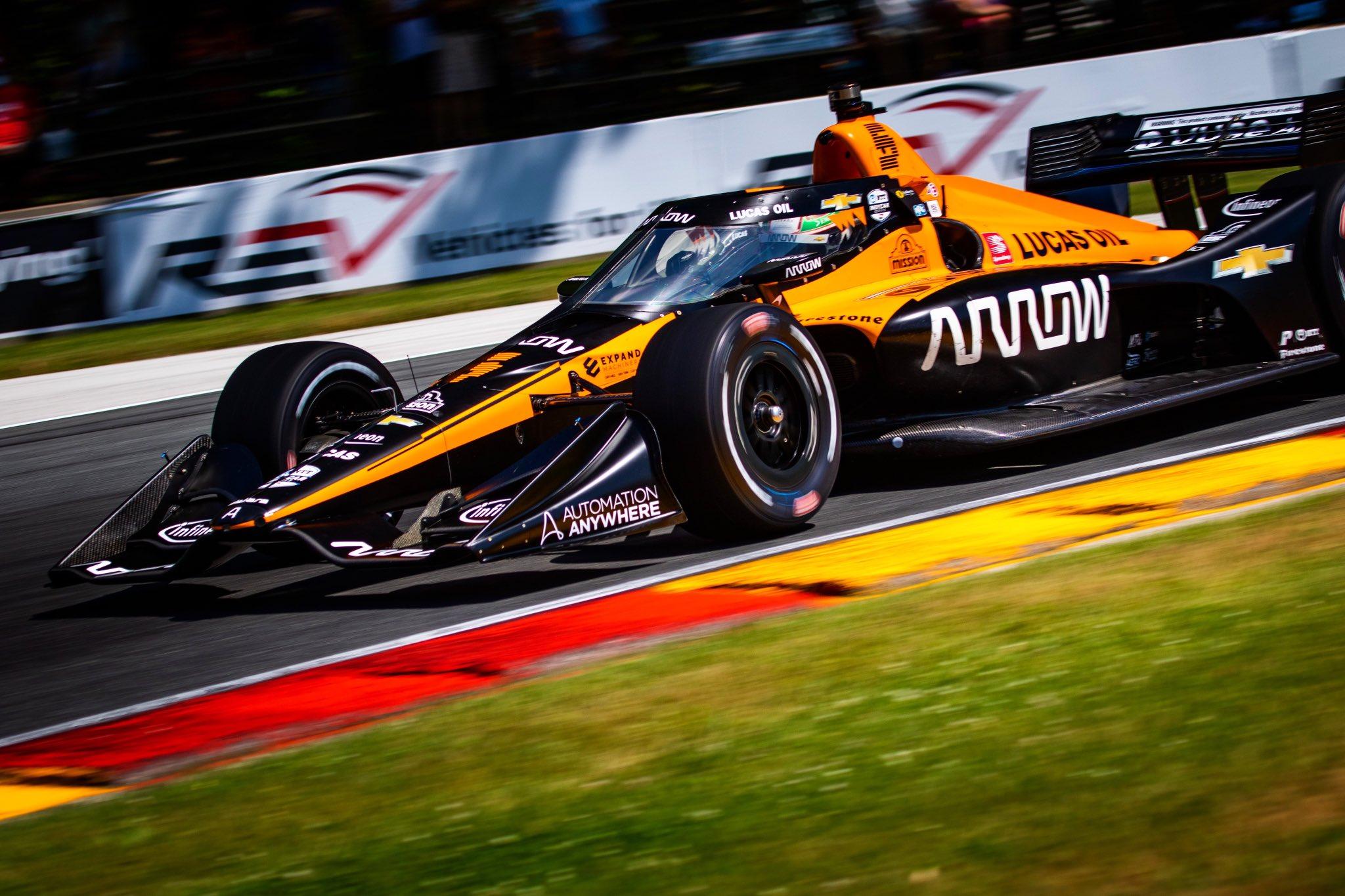 El mexicano Patricio O`Ward logra su primer podio de la IndyCar