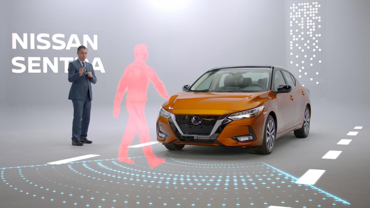 Nissan Sentra y sus tecnologías a bordo