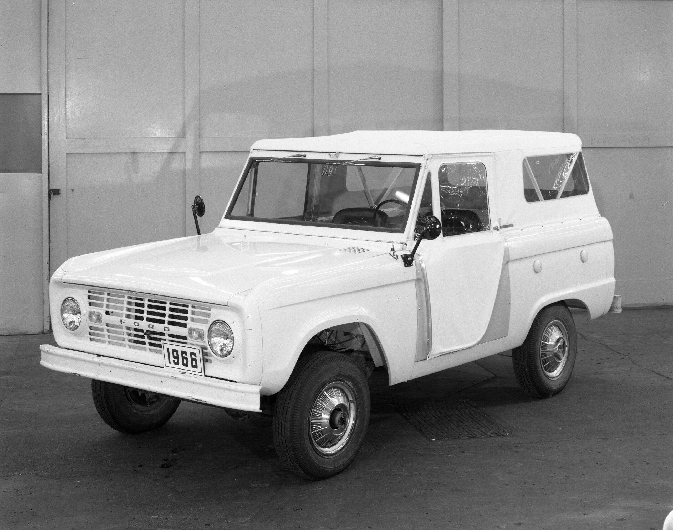 ¿Sabes cuál es el origen del Ford Bronco?