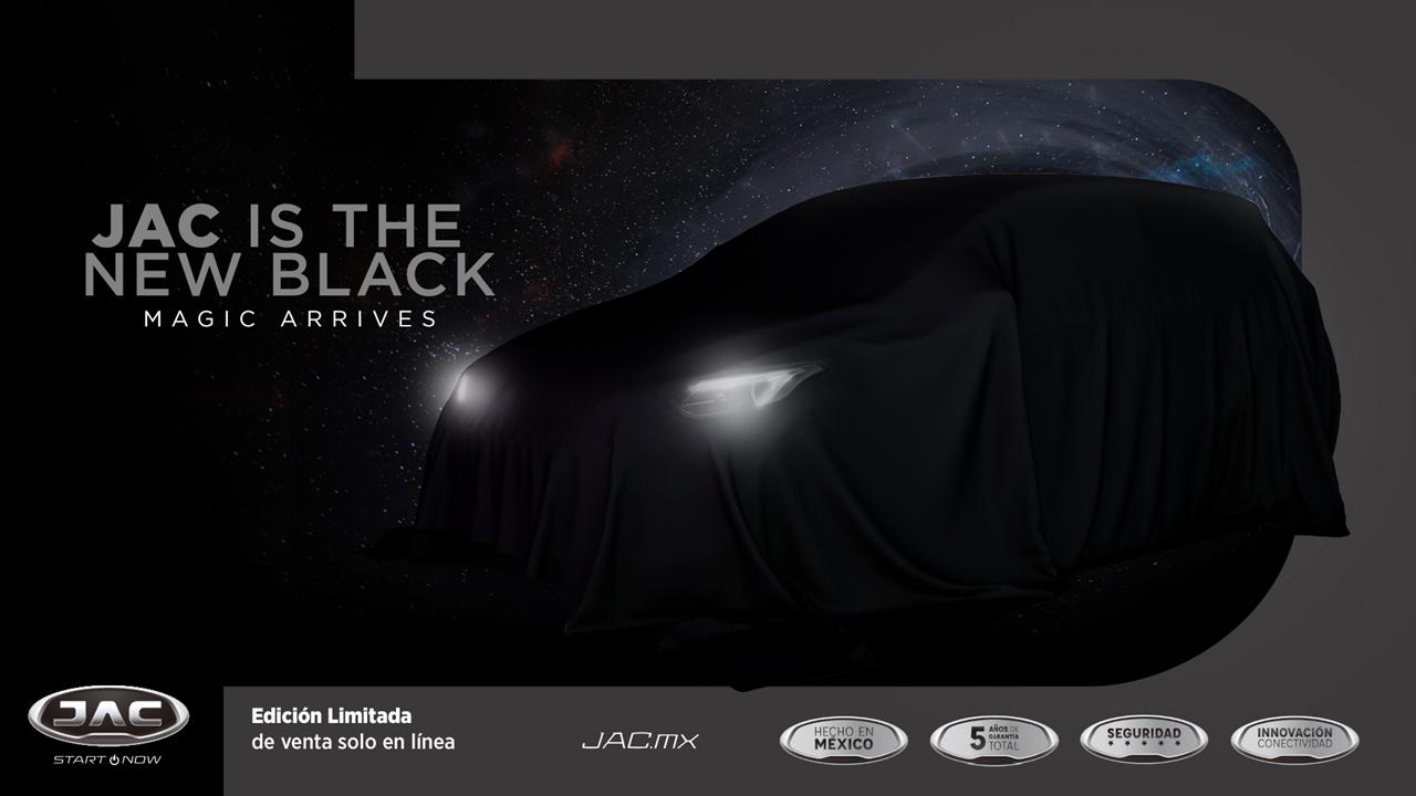 """JAC México da a conocer """"Black series"""", su primera edición especial"""