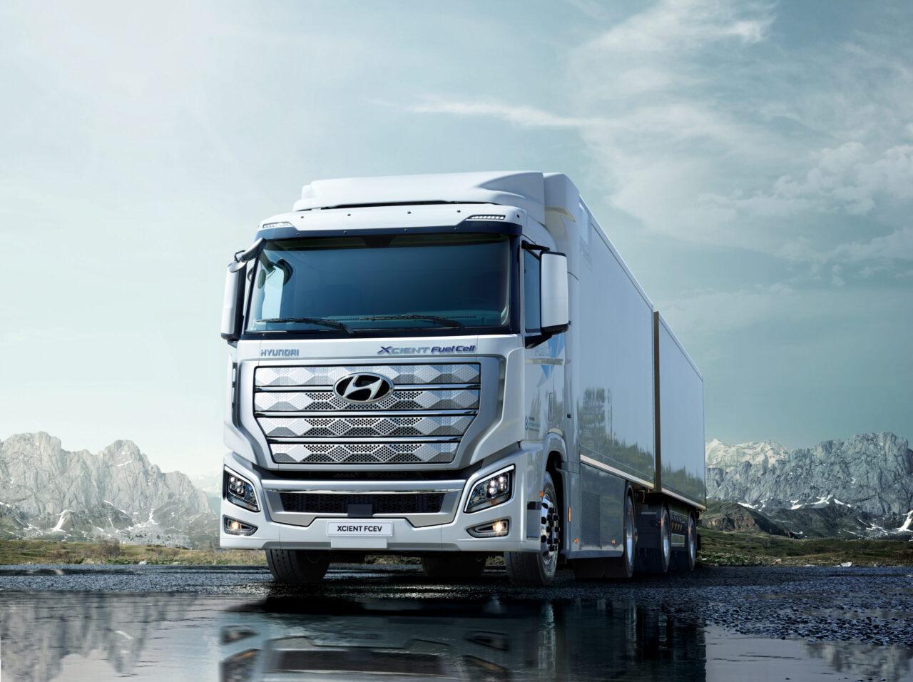 Hyundai XCIENT; un camión de uso comercial