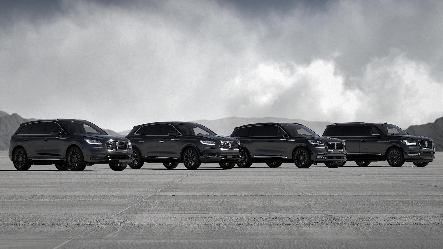 Lincoln expande el paquete monocromático en su portafolio de SUVs