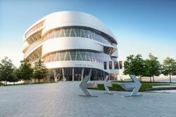 Lunes de museo: Mercedes-Benz en Stuttgart
