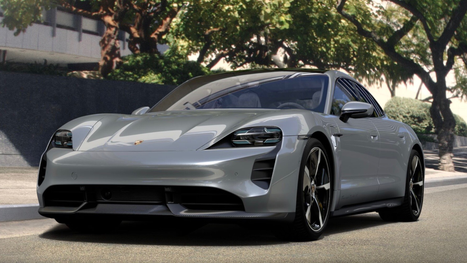 Mark Webber configura su Porsche Taycan