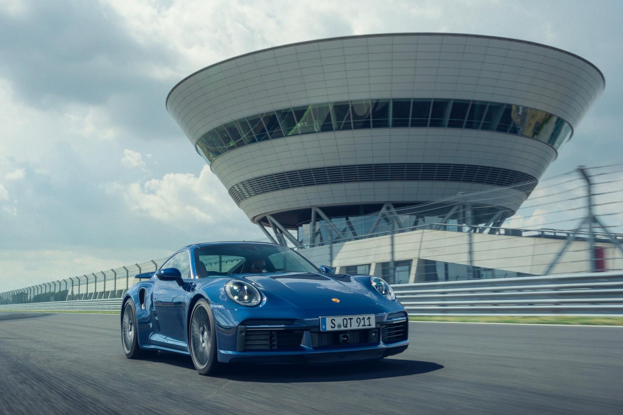 Porsche 911 Turbo: alto rendimiento por excelencia
