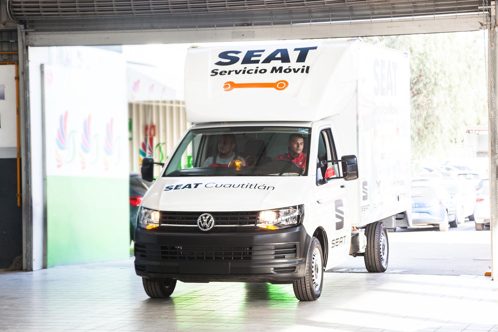 SEAT México estrena taller móvil