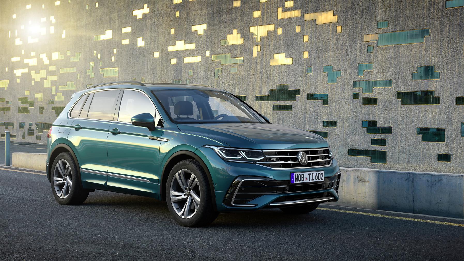 Volkswagen Tiguan: Más eficiente y con opción plug-in hybrid