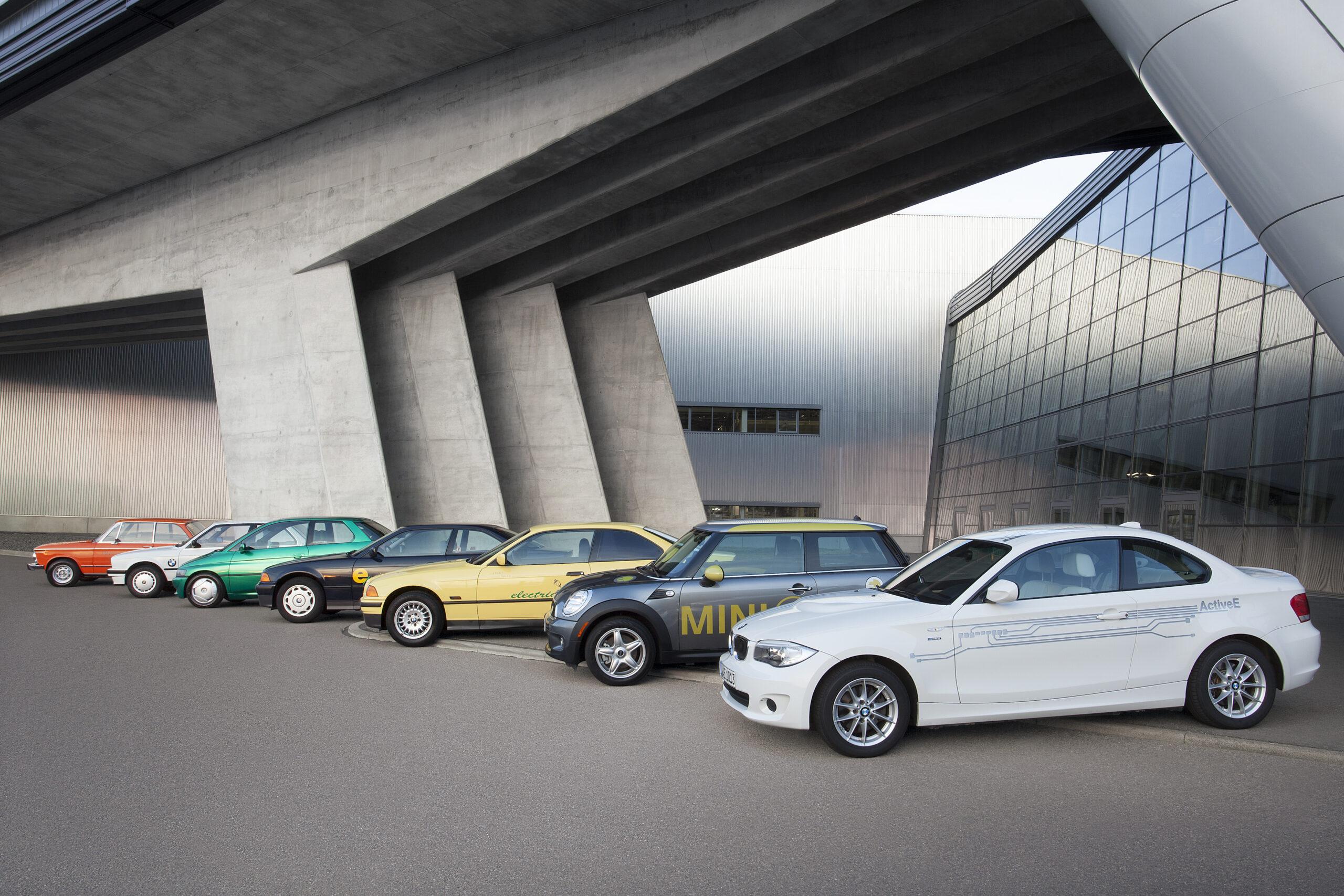 BMW a la cabeza en electromovilidad