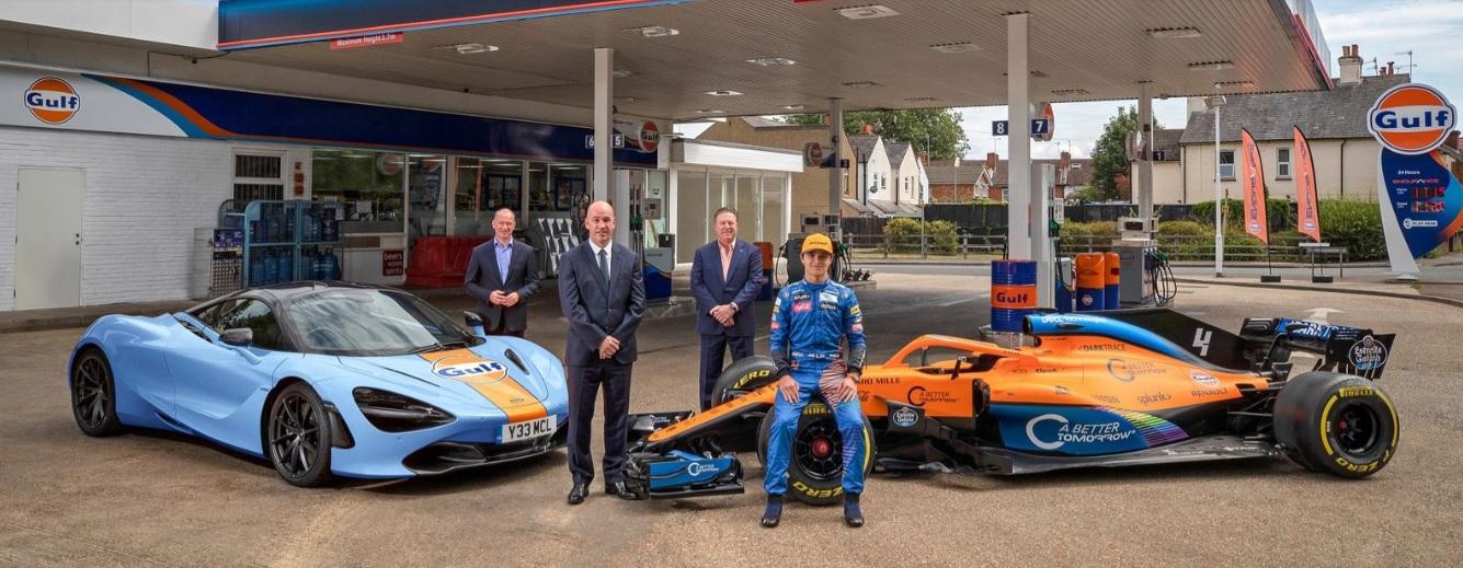 McLaren confirma su asociación con Gulf