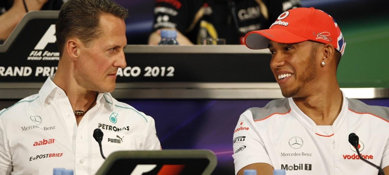 """Lewis Hamilton: """"romper los registros de Schumacher nunca ha sido mi prioridad"""""""