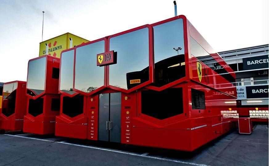 Las autocaravanas vuelven al paddock de la Fórmula 1