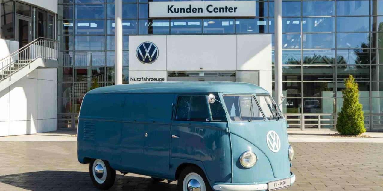 La Volkswagen Combi más antigua
