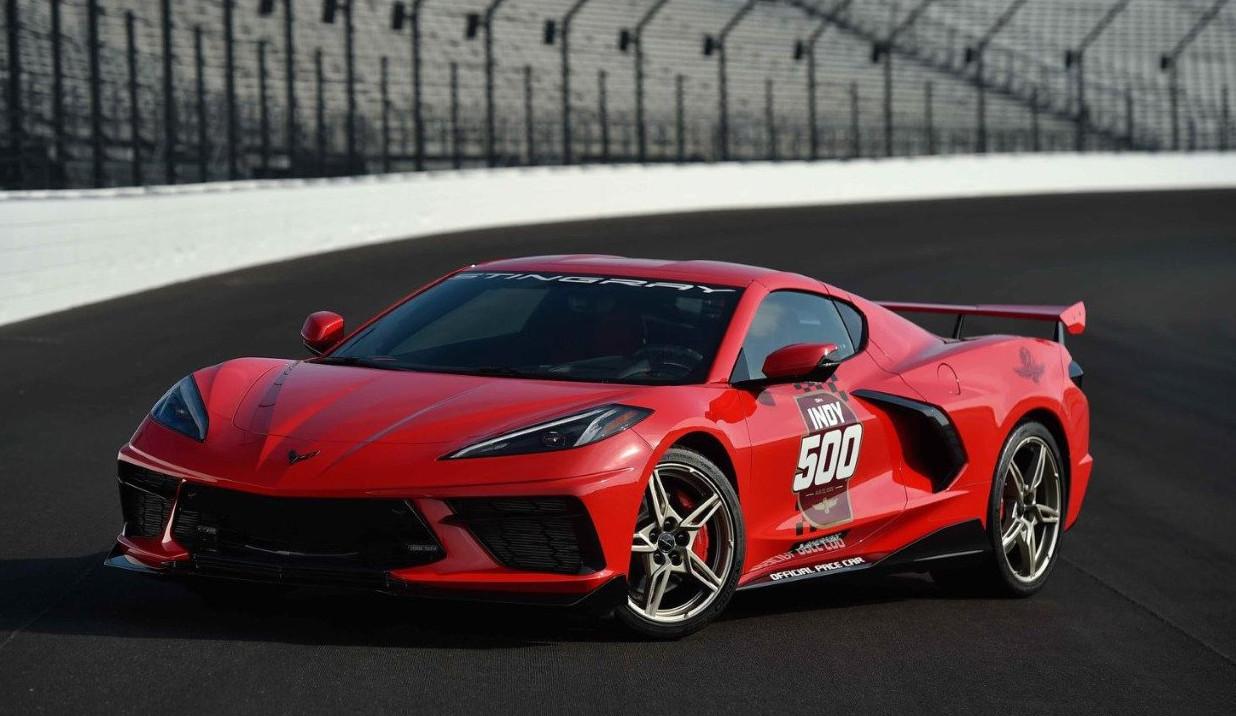 Corvette Coupé será el Pace Car de las 500 Millas de Indianápolis