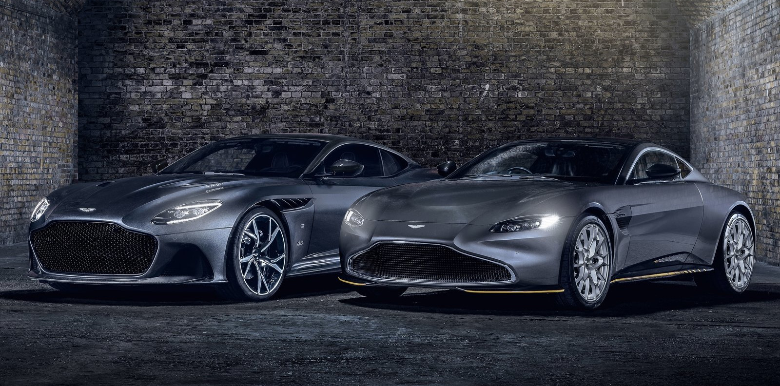 Aston Martin Vantage y DBS Superleggera 007 Edition, con estilo James Bond