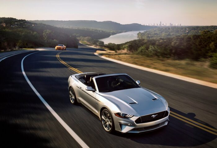 Ford Mustang Convertible-2020