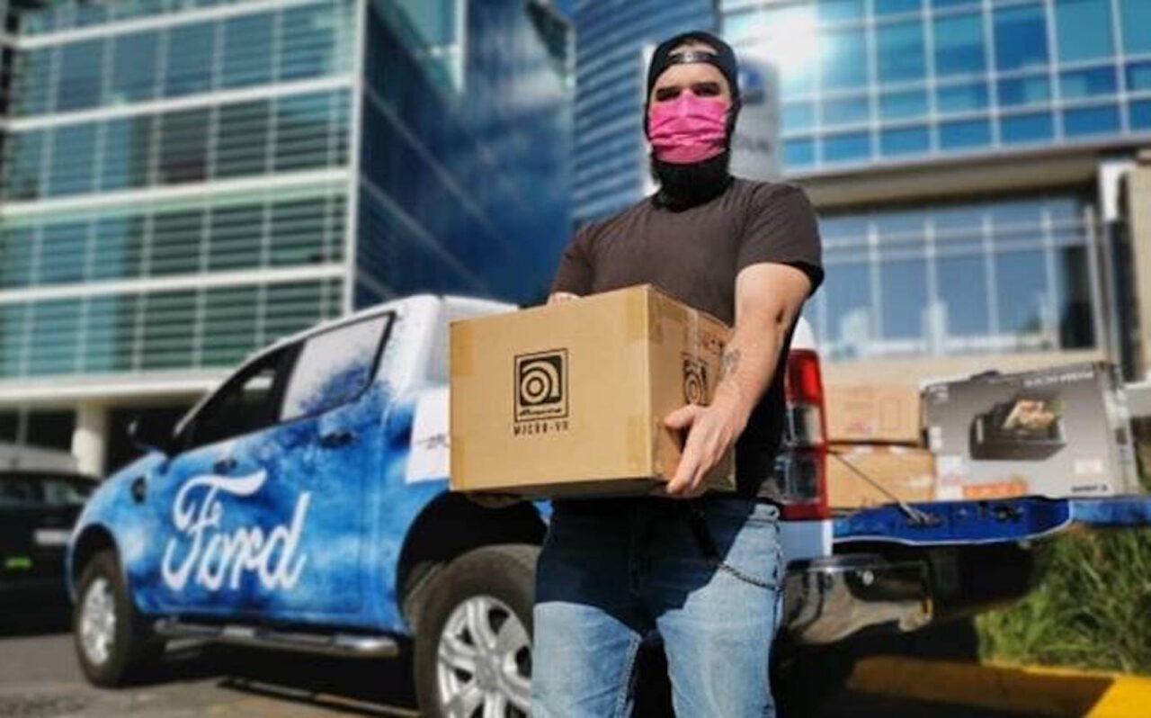 Colaboradores de Ford reúnen más de un millón de dólares ante el COVID-19