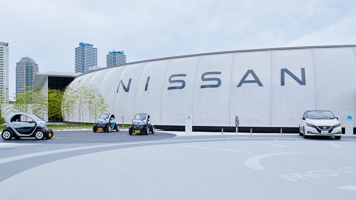 Nissan Pavilion acepta pagos con electricidad