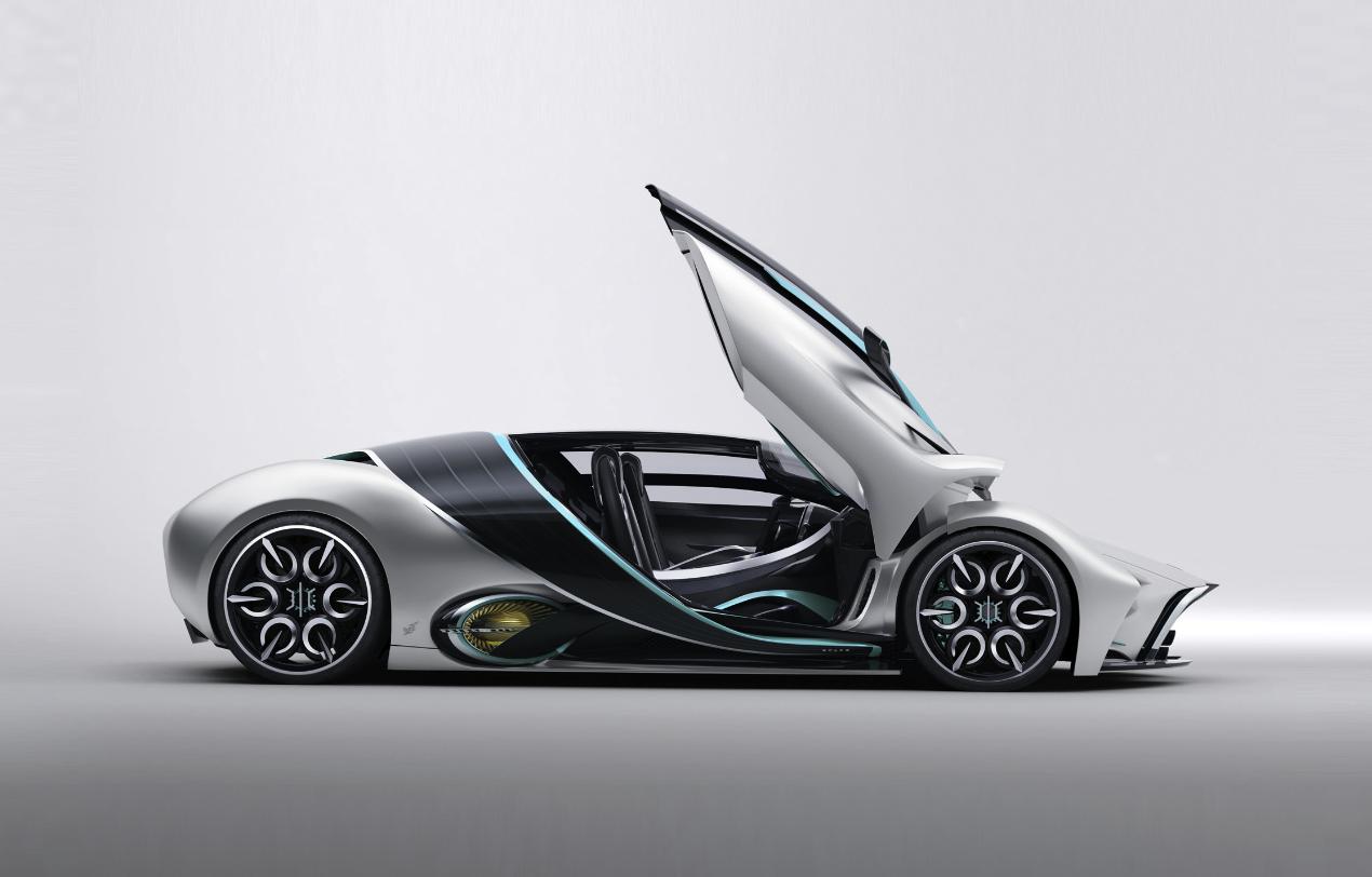 Hyperion, el supercar eléctrico con hidrógeno