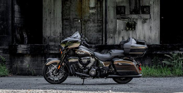 Jack Daniel's Limited Edition Indian Roadmaster Dark Horse, de edición limitada