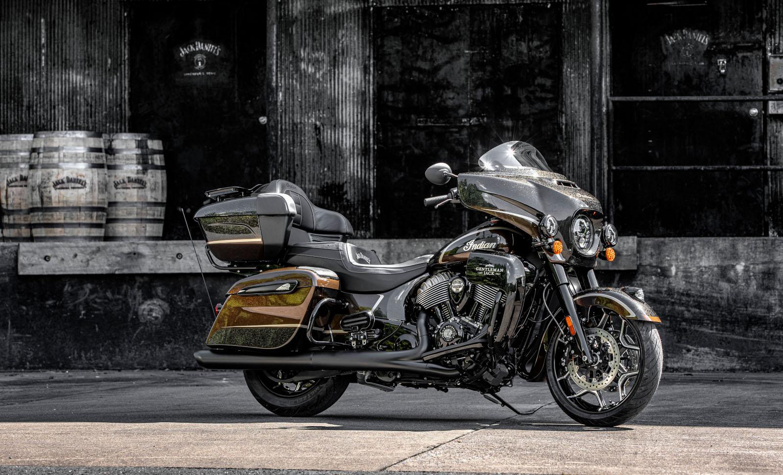 Llega a México la nueva Jack Daniel's Limited Edition Indian Roadmaster Dark Horse