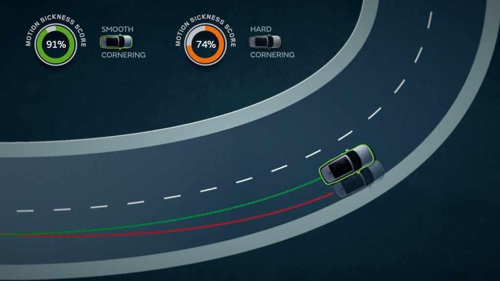 Jaguar y Land Rover mejoran conducción autónoma para reducir mareos
