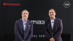 Surge Mazda Financial Services de la mano de Banco Santander