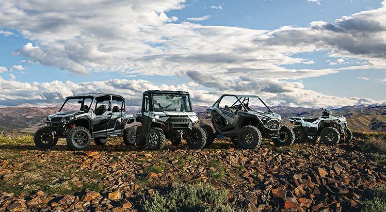 Polaris presenta su nueva gama off-road 2021