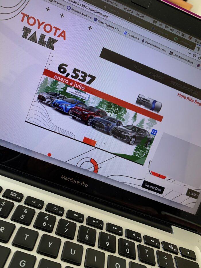 Toyota reajusta su objetivo anual, prevé vender 72,500 unidades en 2020
