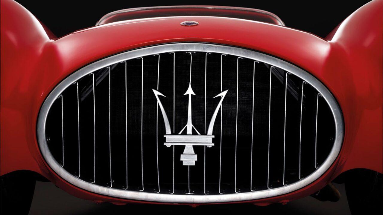 El logo de Maserati es digno de un Dios