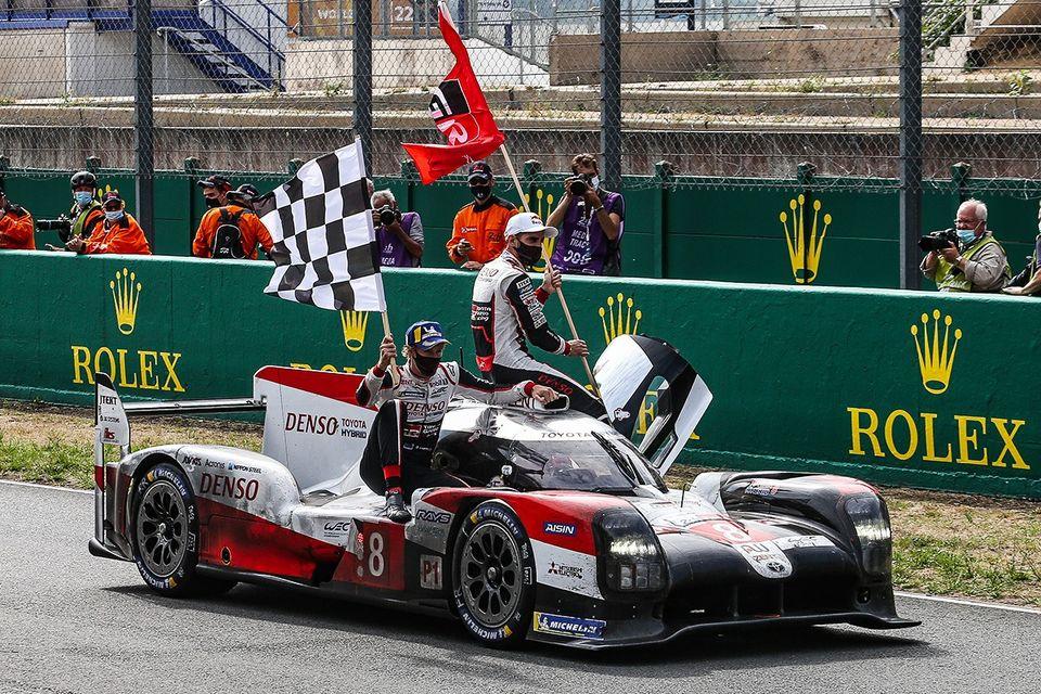 Toyota volvió a triunfar en las 24 Horas de Le Mans