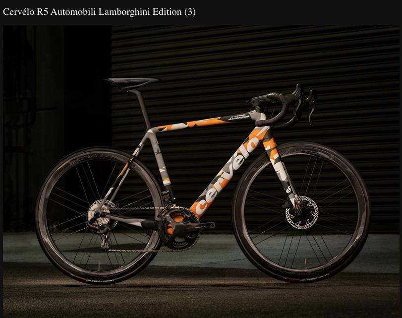 La bicicleta Lamborghini de edición limitada